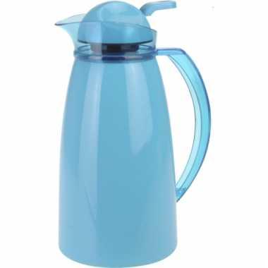 Koffiekan 1 liter blauw