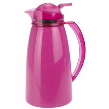 Koffiekan 1 liter fuchsia