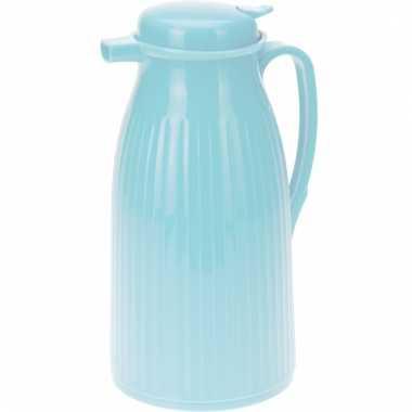 Koffiekan blauw 1 liter