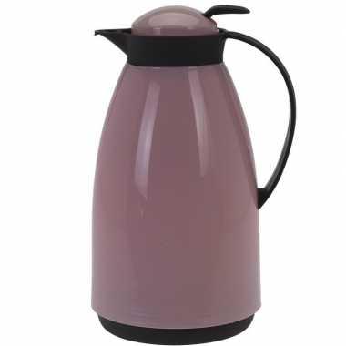 Koffiekan/koffiekan 1 liter roze
