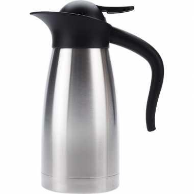 Koffiekan/koffiekan dubbelwandig 1 liter