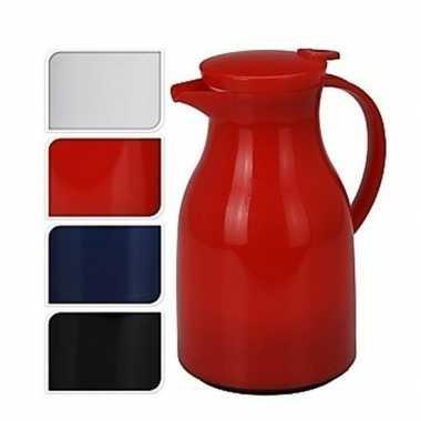 Koffiekan/koffiekan wit 1 liter