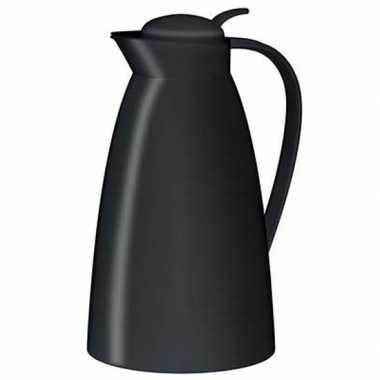 Koffiekan/koffiekan zwart 1 liter
