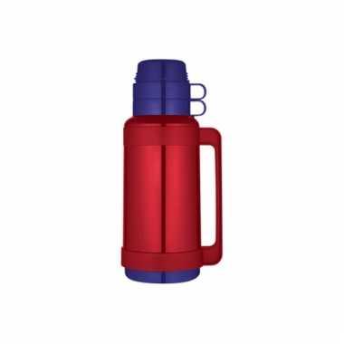 Rode koffiekan 1 liter