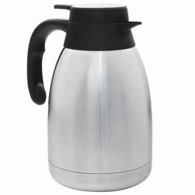Rvs koffie/koffiekan 1,5 liter