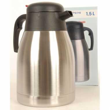 Rvs koffiekan 1 5 liter
