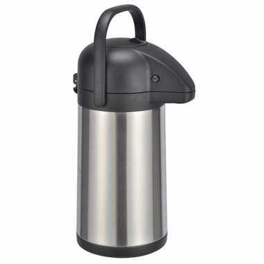Rvs koffiekan/koffiekan 2,2 liter