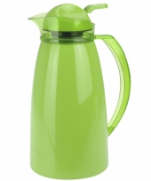 Koffiekan 1 liter groen